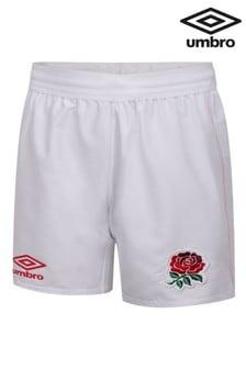Umbro Junior England Home Replica Shorts