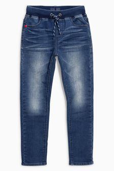 Skinny-Schlupfjeans in Jersey-Optik (3-16yrs)