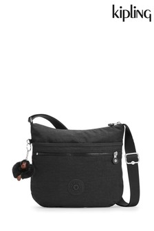Kipling Black Arto Shoulder Cross Body Bag