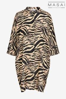 فستان قميص Iosetta أسود من Masai