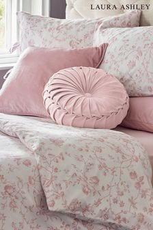 Blush Aria Duvet Cover And Pillowcase Set