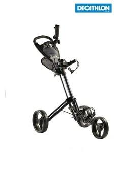 Decathlon Three-Wheel Compact Golf Trolley Inesis