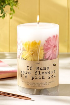 Mothers Day Floral Encapsulated Candle