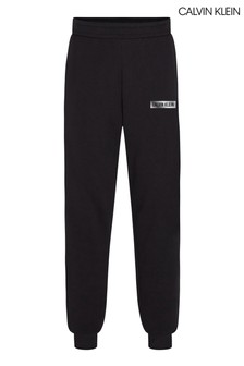 Calvin Klein Black Branded Sweatpants