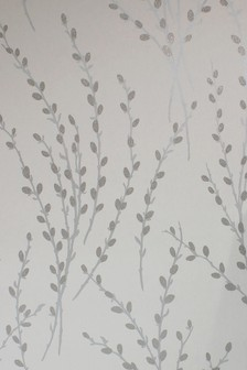 Paste The Wall Glitter Willow Wallpaper Sample