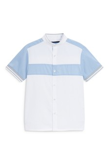 Short Sleeve Colourblock Shirt (3-16yrs)