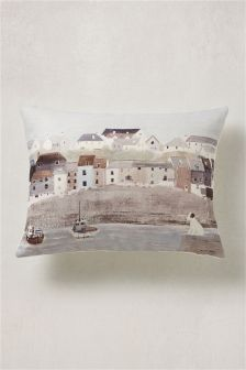 Hannah Cole Sea Scene Cushion