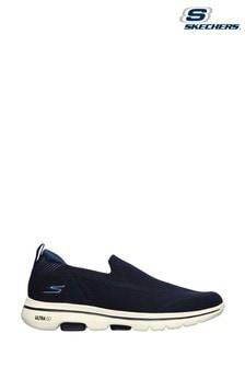 Skechers® Blue Go Walk 5 Ritical Trainers