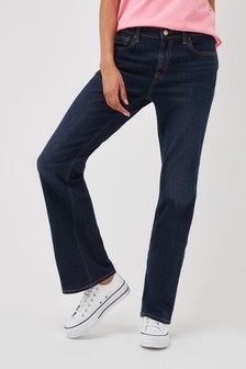 Gap Washed Boot Cut Jeans