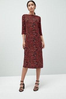 Schmal geschnittenes Kleid