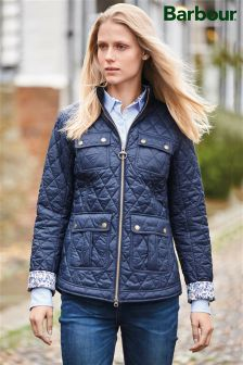 Barbour® Navy Quilt Liberty Jacket