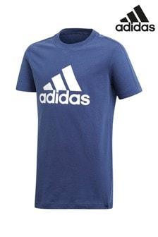 adidas Athletics Essentials Logo in the Box Tee Kids Shirts
