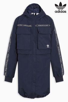 Темно-синяя куртка с 3 полосками adidas Originals NMD