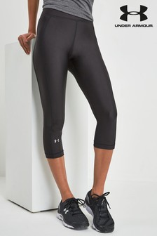 Under Armour HeatGear Armour Caprihose, schwarz