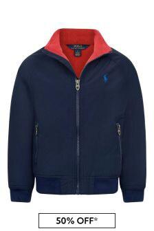 Ralph Lauren Kids Boys Navy Portage Jacket