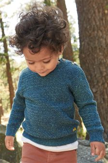 Fisherman Jumper (3mths-6yrs)