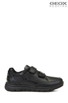 Geox Junior Black Xunday Boy Sneaker
