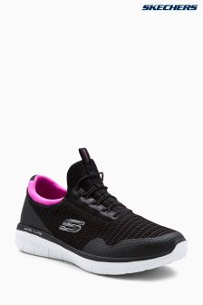 Skechers® Black Synergy 2.0 Mirror Imager Memory Foam Trainer