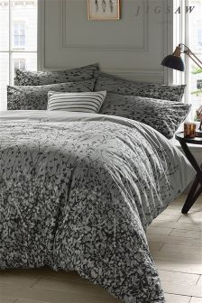 Jigsaw Expressionist Floral Duvet Cover