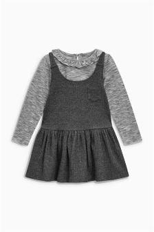 T-Shirt And Pinafore Set (3mths-6yrs)
