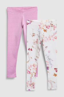 Leggings Two Pack (3-16yrs)