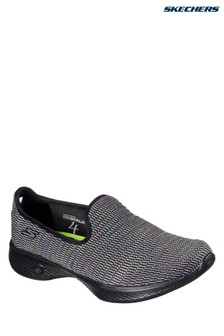 Skechers® Black Go Walk 4 Slip On