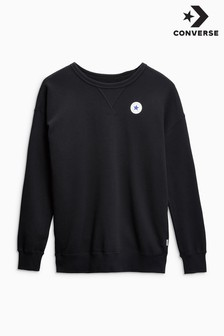 Converse Black Oversized Sweater