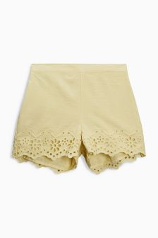 Broderie Shorts (3mths-6yrs)
