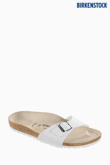 Birkenstock® Women's White Madrid Sandal