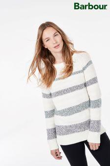Barbour® Faeroe White Stripe Knit
