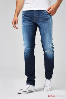 db46e1ec98c Replay® Anbass Hyperflex Slim Fit Jean
