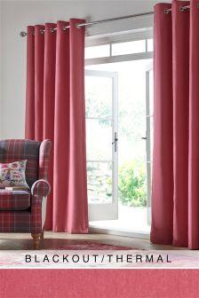 Cotton Studio* Eyelet Blackout/Thermal Curtains