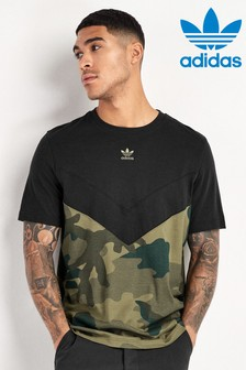 adidas Originals Black/Camo Block T-Shirt