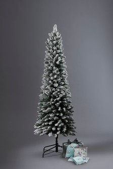 Slim Vermont Snowy 6ft Christmas Tree