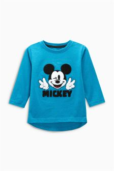 Mickey Mouse™ Long Sleeve T-Shirt (3mths-6yrs)