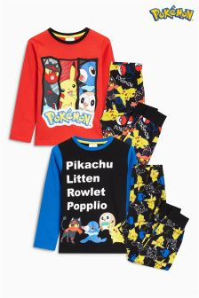 Pokémon™ Pyjamas Two Pack (3-12yrs)