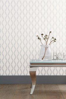 Paste The Wall Luxus-Tapete mit geometrischem Design