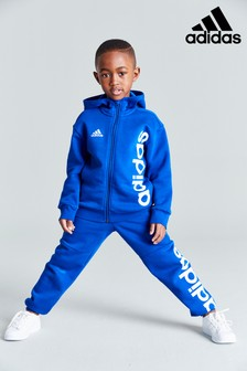 adidas Little Kids Linear Zip Through