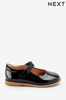 Brogue Mary Jane Shoes