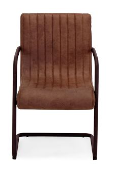 Bernie Single Dining Chair Faux Leather