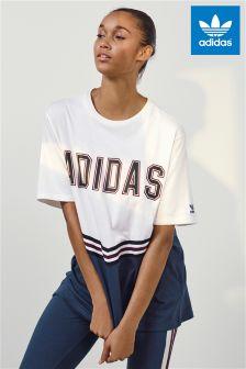 adidas Originals Adi Break T-Shirt, weiß