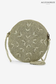 Accessorize Metallic Amelia Cross Body Bag