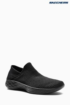 Skechers® Black You Gore Slip-On