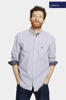Joules Chalk Check Classic Fit Hewney Shirt