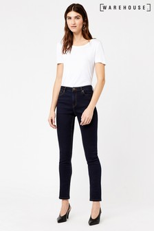 Warehouse Raw Powerhold Skinny Cut Jeans
