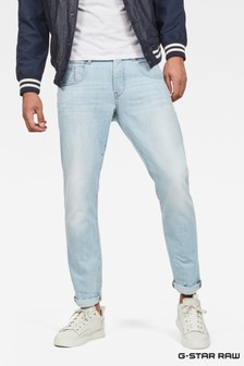 G-Star Light Wash Radar Straight Tapered Jean
