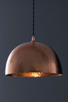 Buy lighting ceiling lights copper pendants and shades ada easy fit pendant aloadofball Images