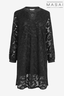 فستان Glus أسود من Masai