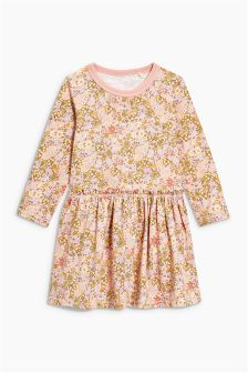 Long Sleeve Frill Dress (3mths-6yrs)