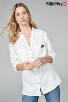 Superdry Cream Shirt